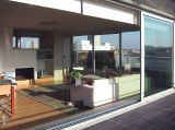 Triple Tracks Stacking Aluminium Sliding Balcony Doors