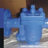 Cast Steel Wcb/Wcc/Lcb/Wc6/CF8/CF8m Inverted Bucket Steam Trap with Flange Ends