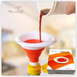 8.6*7cm Kitchen Helper Plastic Collapsible Mini Funnel