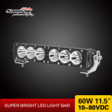 "60W 11.5"" High Power LED Light Bar with Different Beam"