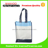 PP Lamination Brown Grocery Tote Shopping Packaging Bag with Handles