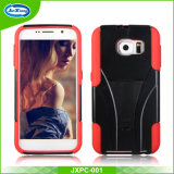2 in 1 Rugged Combo Kickstand Cell Phone Case for Samsung Galaxy S6