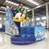 Inflatable Polar Bear Water Slide (Aq01390-1)