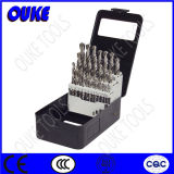 29PCS Bright Finished HSS Twist Drill Bits Set
