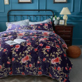 Modern Micro Bedding Sets with Flannel Sheets and Pillowcase