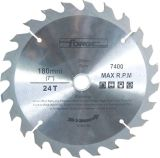 180mm*24T Tungsten Carbide Tipped (TCT) Circular Saw Blade