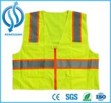 High Visibility Europe Traffic Yellow and Orange Safety Vest