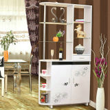 Contemporary Customized Bedroom Living Room Wooden Wine Cabinet (FS-C005)