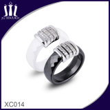 Xc014 Ceramic Faceted Rings for Mother and Her Daughter