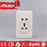 Saudi Arabia Saso Approved Electrical Outlet Multiple Socket
