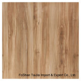 Full Polished Glazed 600X600mm Wooden Look Porcelain Floor Tile (AUA66105)