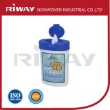 Disposable Mitten-Shaped Moist Pet Cleaning Wipes /Wet Glove