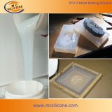 Shore A40 Transparent Platinum Catalyzed Silicone Rubber for Rapid Prototyping Making