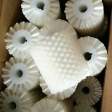Small Nylon White Food Roller Brush for Food Cleaning
