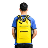 Hot Sale OEM Dry Bag Backpack with Two Zipper Pockets