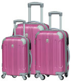 3 in One Set ABS Hard Shell Zipper Luggage Travel Case