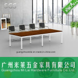Favorable Price Straight Design Meeting Table Office Desk with Metal Leg