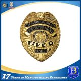 Metal Badge with Customer Logos for Police Badge Use