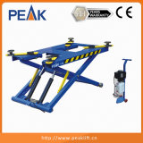 Double Hydraulic Cylinders Scissor Car Lift Maintenance Equipment (MR06)