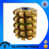 HSS Roller Chain Sprocket Hob with Tialn Coating (RS35~RS160)