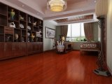 Wine Color Embossed Laminate Flooring