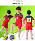 Hot Sale Sublimation Football Uniform OEM Custom Cheap Soccer Jersey Kids Sets