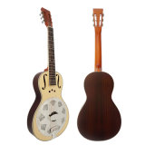 BV/SGS Certificate Cheap Wholesale Wooden Body Parlor Resonator Guitar