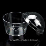 PVC Clear High-Grade Plastic Bowl with Cover