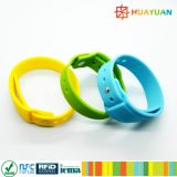 CommonCriteriaEAL5 INFINEON CIPURSE4move RFID silicone Wristband for EMV payment system
