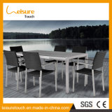 Personalized Design Leisure Garden Dining Furniture Rattan Modern Chair Table Set