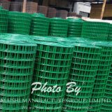 1/2′′x1/2′′ Green PVC Coated Welded Wire Mesh Panel Fence Suppiler