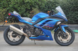 Blue Color Racing Motorcycle with High Speed and Max Power