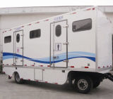 Luxury Trailer Toilet Van for Toilet Leasing Business