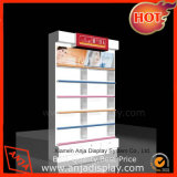 Wooden Cosmetic Display Counter Cosmetic Display Shelf