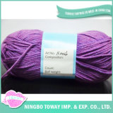 Wholesale Yarn Not Ball Blend Knitting Cotton Wool