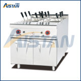 Gh988c Gas Pasta Cooker with Cabinet with 12 Baskets