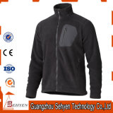 Fashion Mens Warm Softshell Jacket with Zipper in Front