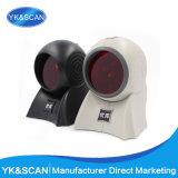 Black 1d Omnidirectional Laser Barcode Scanner