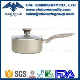 Food Grade Nonstick Polished Aluminium Milk Boiling Pot