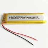 3.7V 1000mAh 652272 Lithium Polymer Lipo Rechargeable Battery Li Ion Cells for MP3 DVD Pad Mobile Phone Camera 6.5*22*72mm