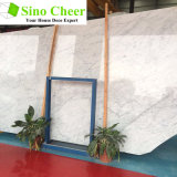 Hot Sales China Polished Carrara White Marble Slabs