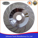 100-180mm Turbo Electroplated Part Diamond Cup Wheels for Stone Grinding