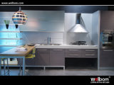 2015 Welbom Simple Design MDF Kitchen Cabinet Purple