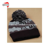 Black Beanie Warmer Acrylic Winter Ski Cap Men Hat