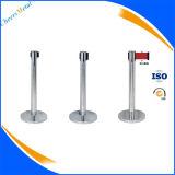 Retractable Belt Crowd Control Barrier Stanchions System