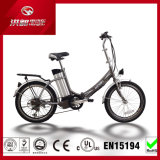 20'' Fashion 20V 250W Folding Electric Pocket Bike with Ce Certification