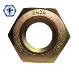 ASTM A194 2h Heavy Hex Nuts Zinc Yellow