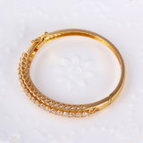Xuping Fashion Bangle with Synthetic CZ