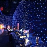 Best Price LED Star Curtain with Blue and White Combination for Wedding Party