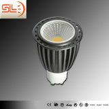 COB GU10 LED Spotlight, Aluminum Material LED Spotlight